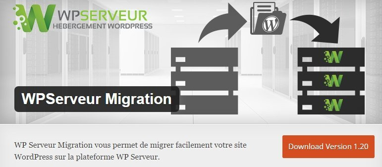 WPServeur Migration