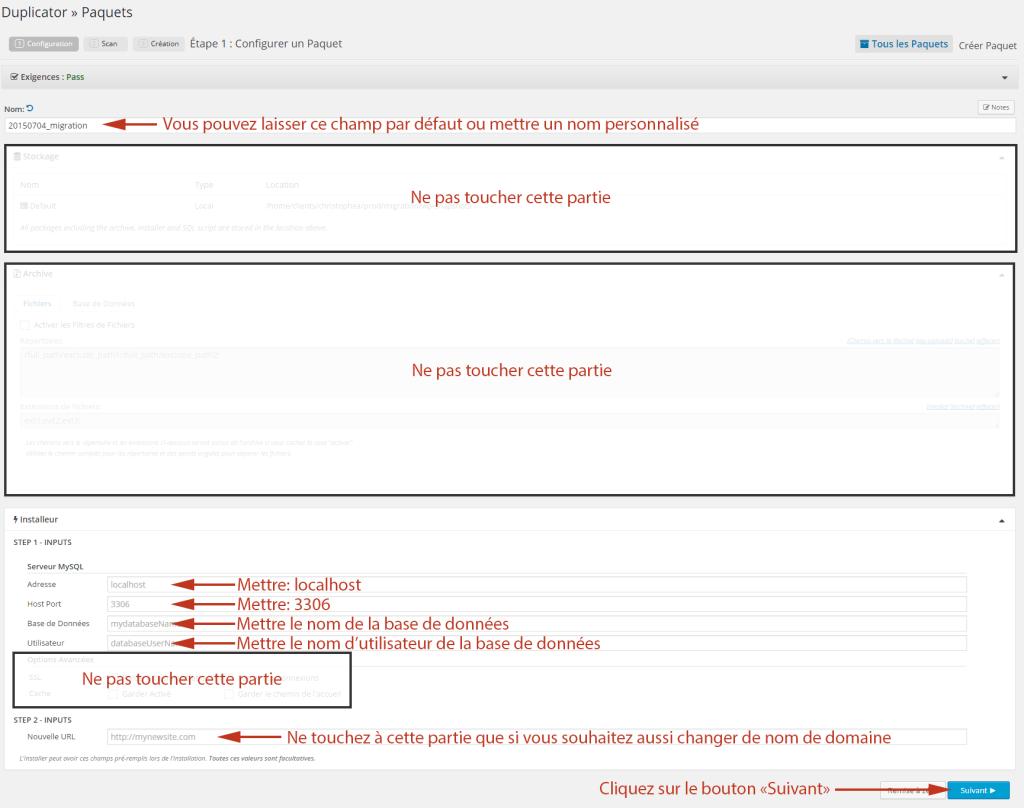 configurer-duplicator