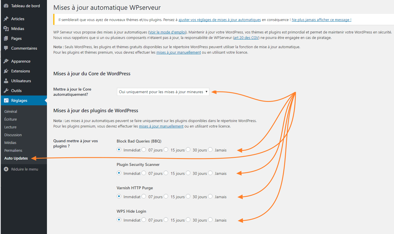 Mise A Jour Automatique Des Plugins Wordpress